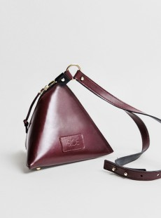 venus bag burgundy